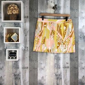 J. Crew | Marble Print Mini Skirt